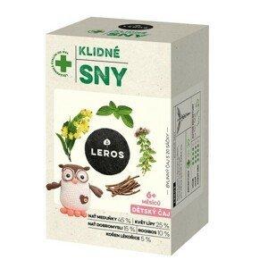 LEROS Dětský čaj Klidné sny 20x1.5g