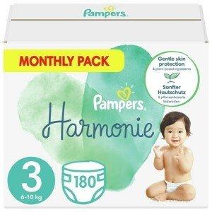 Pampers Harmonie 3 Plenky 6-10 kg 180 ks