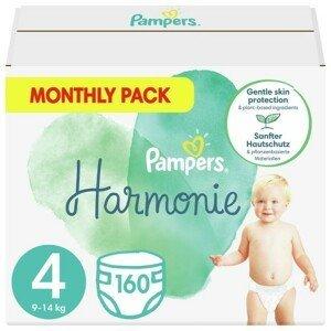 Pampers Harmonie 4 Plenky 9-14 kg 160 ks
