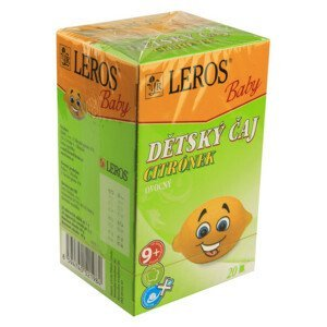LEROS BABY Dětský čaj Citrónek n.s.20x2g - II. jakost