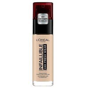 L'Oréal Paris Infaillible 24H Fresh Wear Foundation Dlouhotrvající make-up odstín 15 Porcelain 30 ml