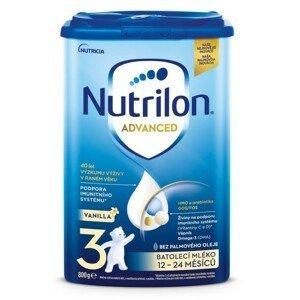 Nutrilon Advanced 3 Vanilla 800g - balení 3 ks