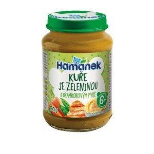 Hamánek Kuře se zeleninou a bramb.pyré 190g 6m+