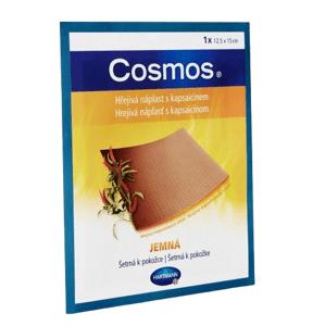 COSMOS Hřejivá náplast s kapsaicinem jemná 12.5x15cm/1ks