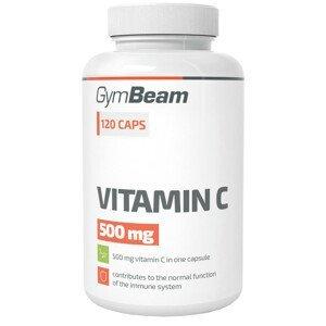 GymBeam Vitamin C 500mg 120 kapslí