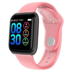 CUBE1 Smart band C36 Pink Fitness náramek