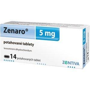 Zenaro 5mg 14 potahových tablet