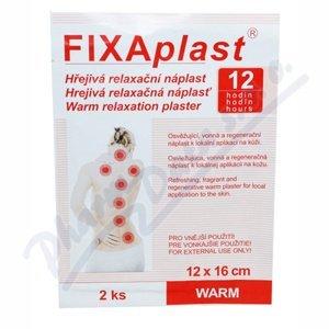 Hřejivá náplast Fixaplast WARM 12x16cm 2ks