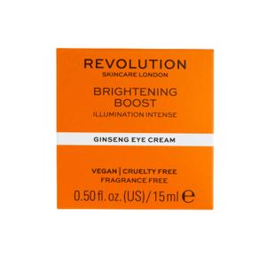 Revolution Skincare, Brightening Boost Ginseng, oční krém 15ml