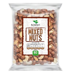 BONITAS BIO Směs ořechů natural 80g