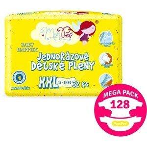MonPeri Klasik Mega Pack XXL 13-25kg Eko Jednorázové dětské pleny 128ks