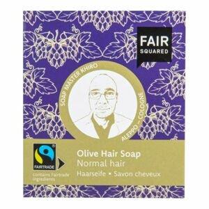 Šampon tuhý na mytí vlasů – olivový pro normální vlasy 2x80g FAIR SQUARED