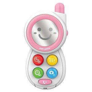 Bayo Dětský telefónek se zvuky Pink