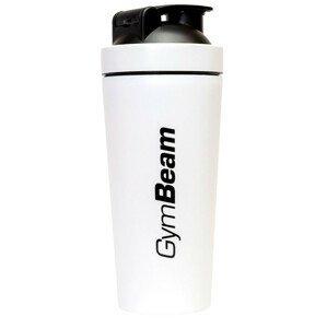 GymBeam Šejkr Steel White 750ml