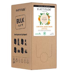 Attitude Přírodní mýdlo na ruce Super leaves s detoxikačním účinkem, pomerančové listy náhradní kanystr 2l