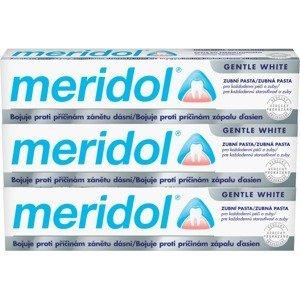 Meridol Zubní pasta Gentle White 3x 75ml