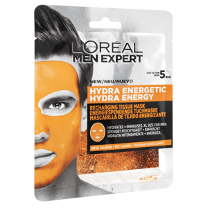 L'Oréal Paris Men Expert Hydra Energetic textilní maska 32g