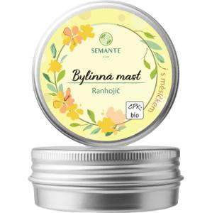 """Semante by Naturalis Bylinná mast s měsíčkem """"Ranhojič"""" BIO 50ml"""