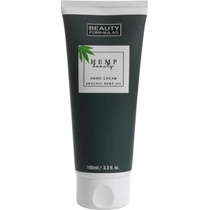 BeautyFormulas Krém na ruce s konopným olejem 100ml