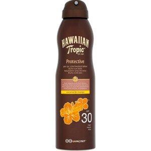 Hawaiian Tropic suchý olej na opalování SPF 30 Protective 180ml