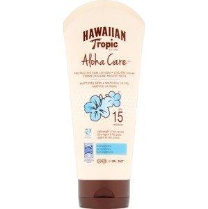 Hawaiian Tropic opalovací mléko SPF 15 Aloha Care Mattifies Skin 180ml