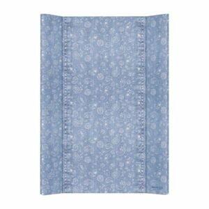 CEBA Podložka přebalovací 2hranná MDF 70cm Denim Style Boho blue Ceba