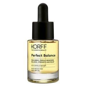 Korff Perfect balance pleťový suchý olej 15ml