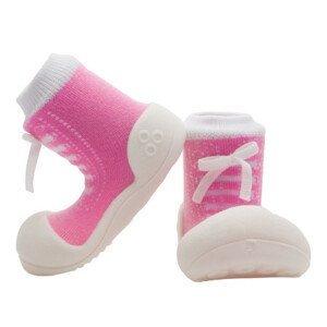 Attipas Dětské Botičky Sneakers Pink XL