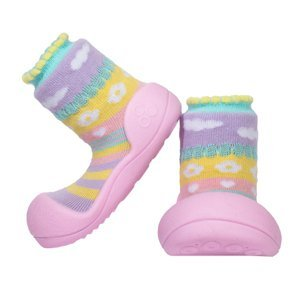 Attipas Dětské Botičky Attibebe Pink M