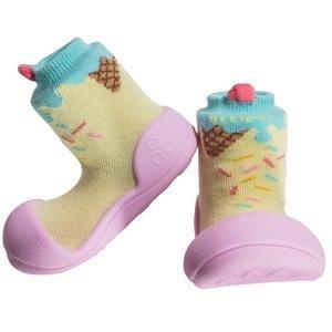 Attipas Dětské Botičky Ice Cream Pink M