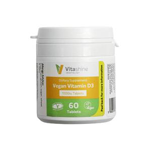 Vegetology Vitashine Vitamín D3 60 tablet