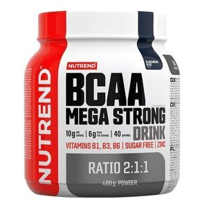 Nutrend BCAA Mega Strong Drink černý rybíz 400g