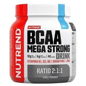 Nutrend BCAA Mega Strong Drink ledová modrá malina 400g