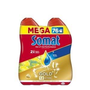 Somat Gold Grease Cutting Lemon & Lime gel na nádobí 2x 684ml