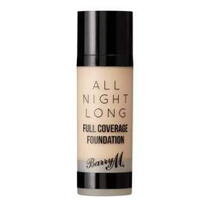 BarryM All Night Long Liquid Foundation tekutý make-up Cashew 30ml
