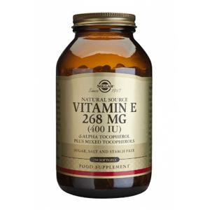 Solgar Vitamín E 400 iu 250cps
