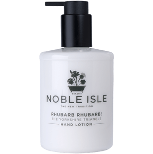 Noble Isle Rhubarb Rhubarb! Luxusní krém na ruce 250ml