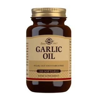 Solgar Česnekový olej – bez zápachu 100cps