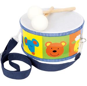 Small foot by Legler  Small Foot Dětské dřevěné hudební nástroje buben zvířata
