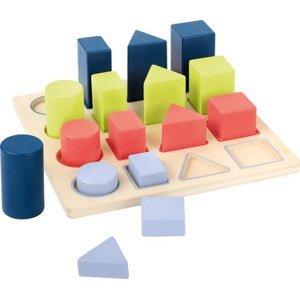 Small foot by Legler  Small Foot Dřevěná edukativní tabulka geometrie