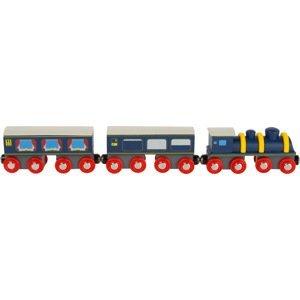Small foot by Legler  Small Foot Dřevěný vlak modrý