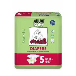Muumi Baby  Pleny jednorázové 5 Maxi + 10-16kg 44ks Baby Muumi
