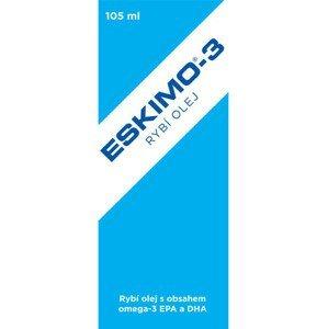Eskimo-3 rybí olej 105ml