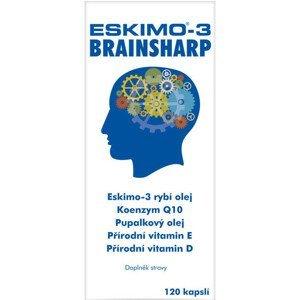 Eskimo-3 Brainsharp kapsle 120 kapslí