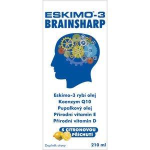 Eskimo-3 Brainsharp rybí olej 210ml