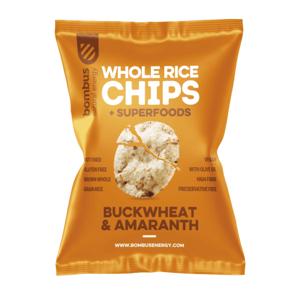 Bombus Rice chips pohanka/amarant 60g