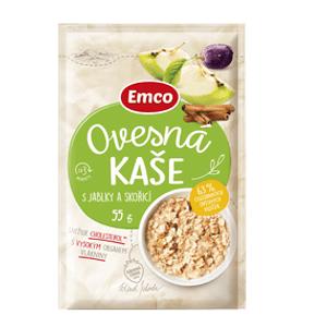 Emco Ovesná kaše s jablky a skořicí 55g