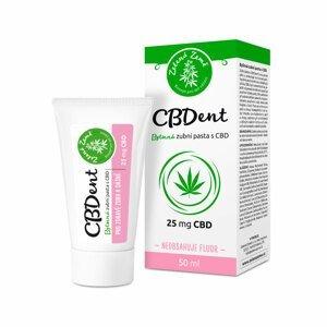 Zelená Země  CBD zubní pasta CBDent 50 ml