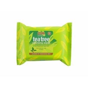 BeautyFormulas  Beauty Formulas Tea tree čistící ubrousky na obličej 30ks