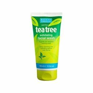 BeautyFormulas  Beauty Formulas Tea tree pěnivý čistící gel na pleť 150ml